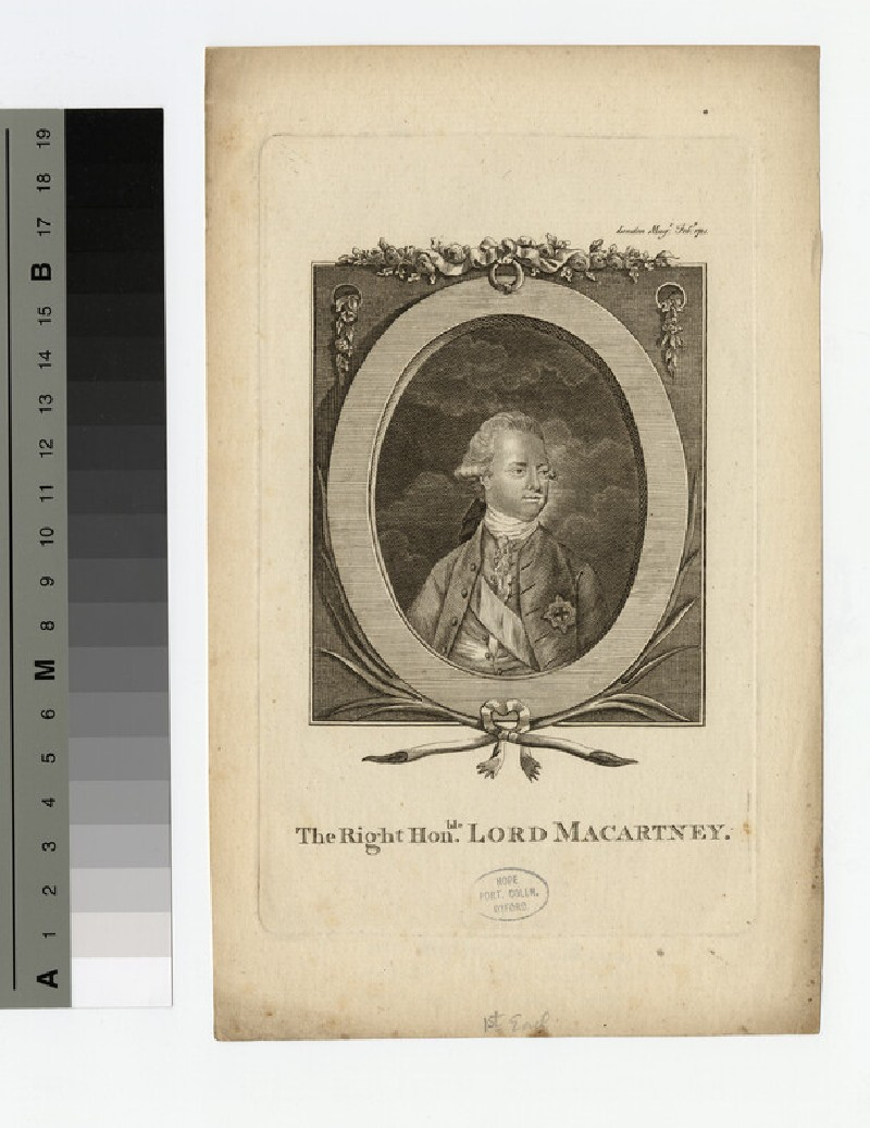 Portrait of Earl of Macartney (WAHP16635)