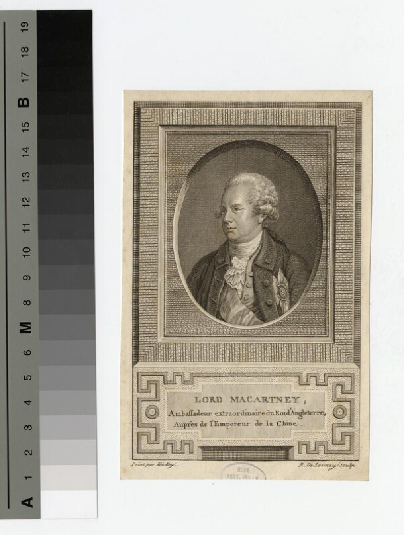Portrait of Earl of Macartney