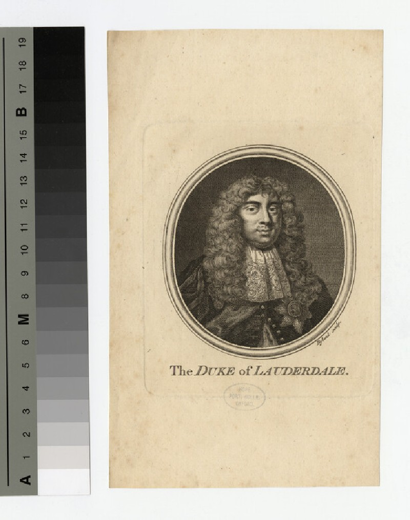 Portrait of Duke of Lauderdale (WAHP16649)