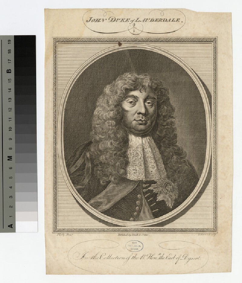 Portrait of John Maitland, 1st Duke of Lauderdale (WAHP16652)