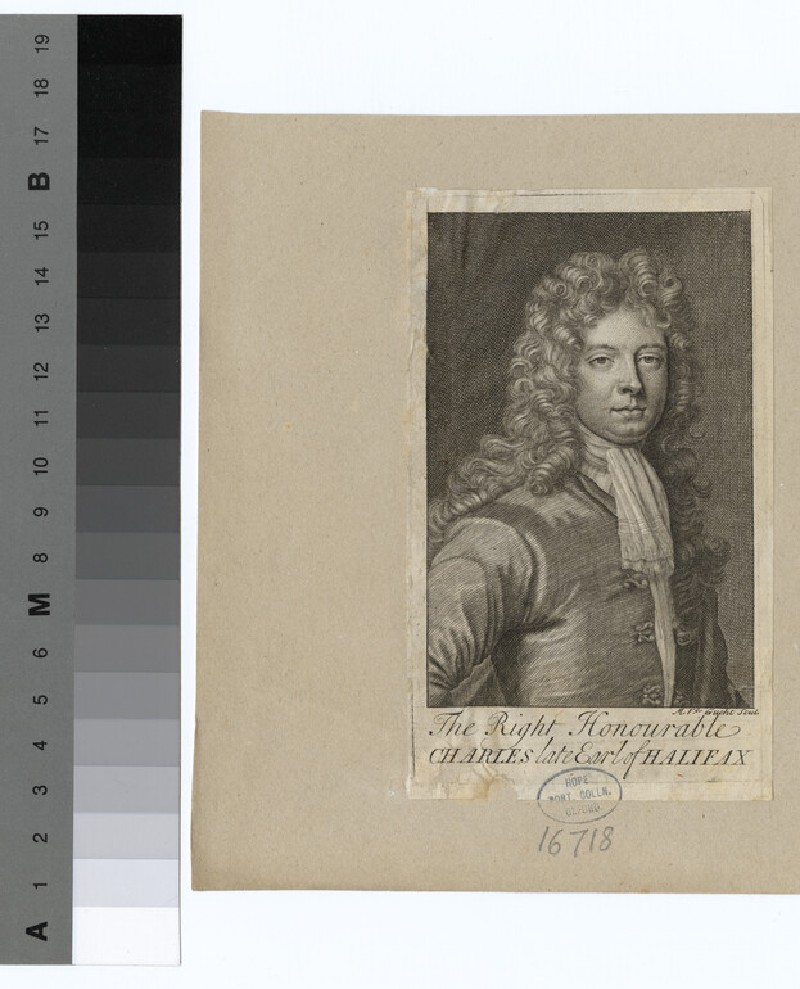 Portrait of Earl Halifax