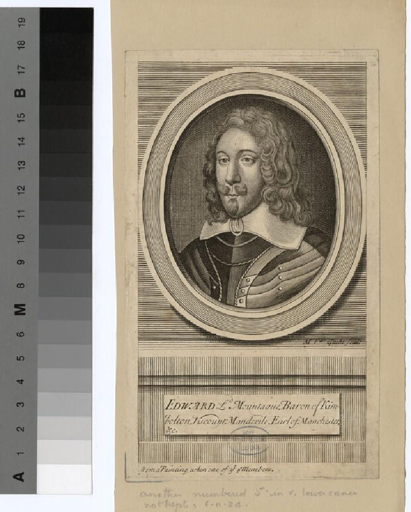 Portrait of Baron Kimbolton