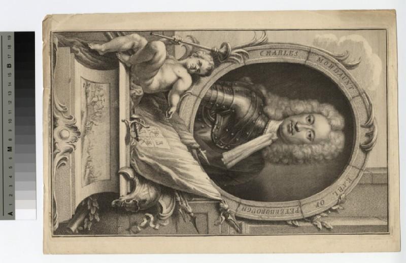 Portrait of Earl Peterborough