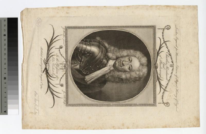 Portrait of Earl Peterborough (WAHP16775)