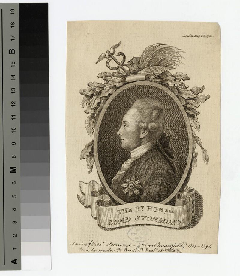 Portrait of Lord Stormont