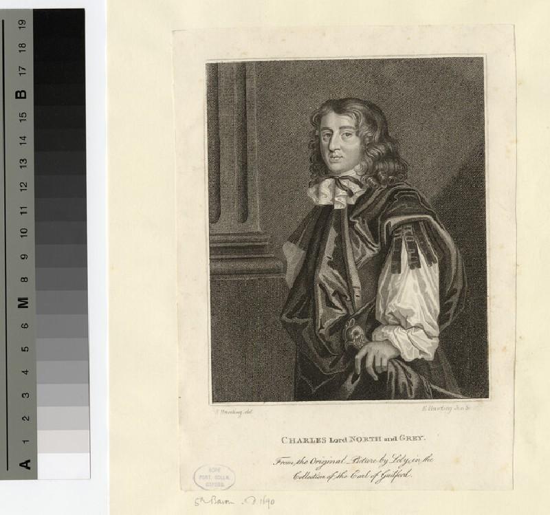 Portrait of Charles North, 5th Baron North and 1st Baron Grey