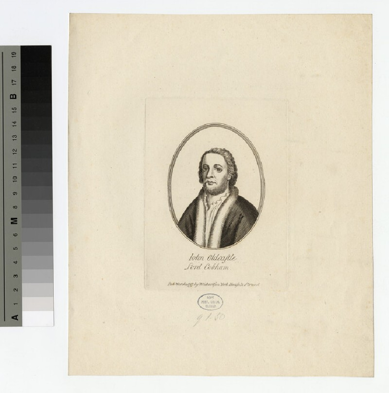 Portrait of J. Oldcastle