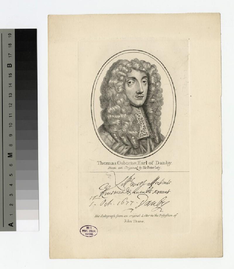 Portrait of Thomas Osborne, 1st Duke of Leeds (WAHP16839)