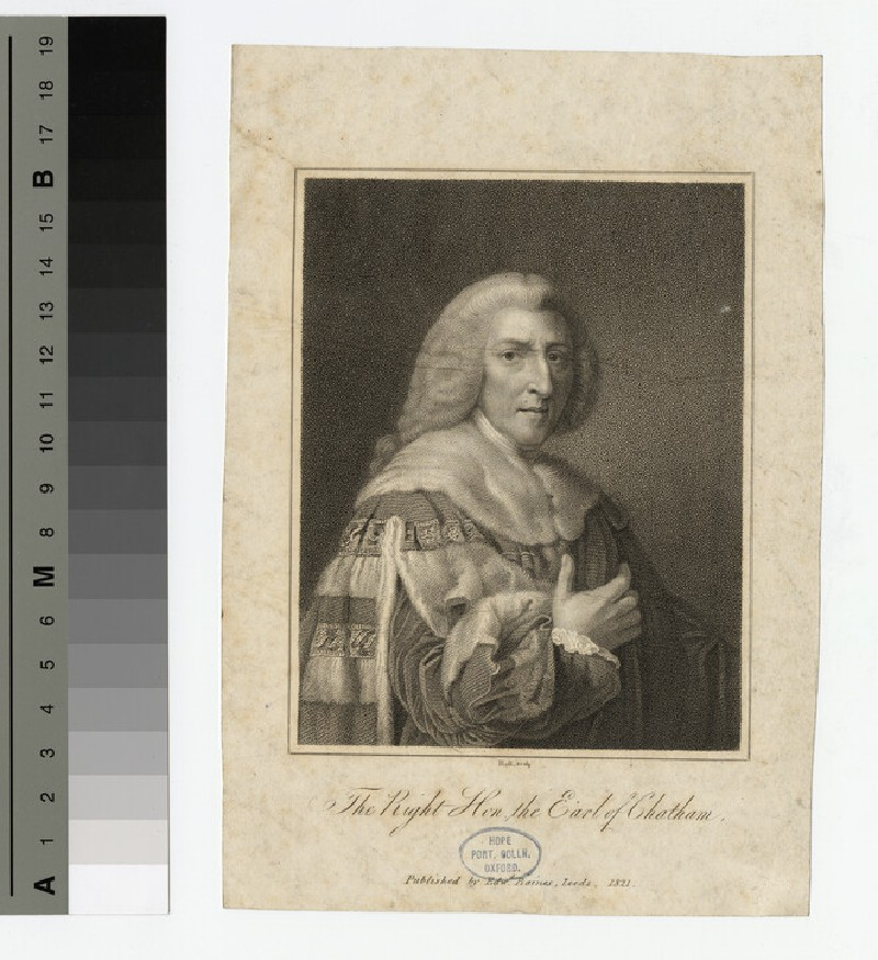 Portrait of William Pitt, 1st Earl of Chatham (WAHP16998)