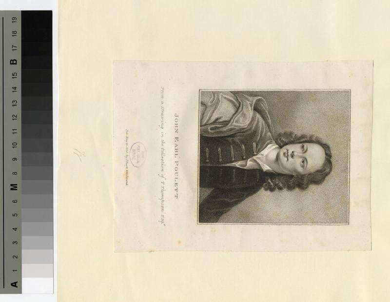 Portrait of John Poulett, 2nd Earl Poulett