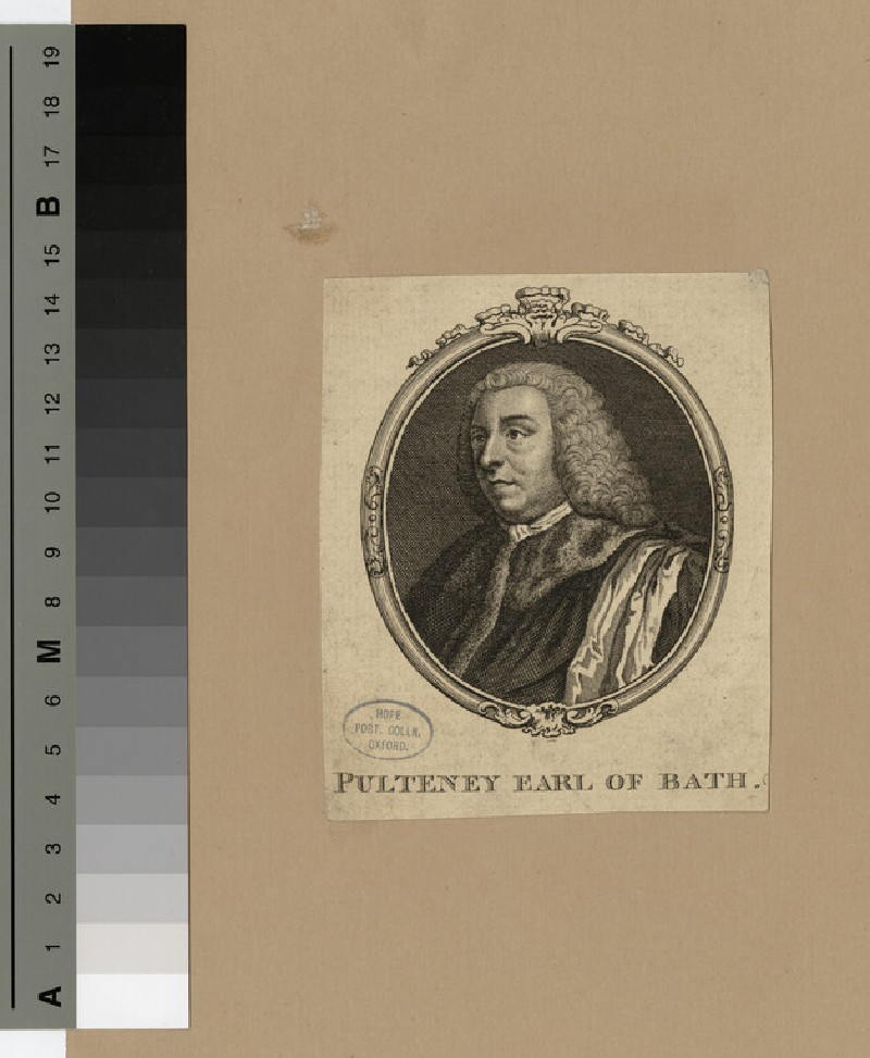 Portrait of 1st Earl Bath