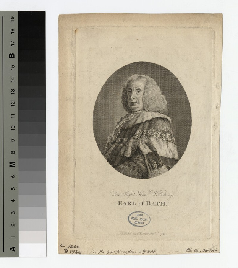 Portrait of Earl of Bath (WAHP17020)