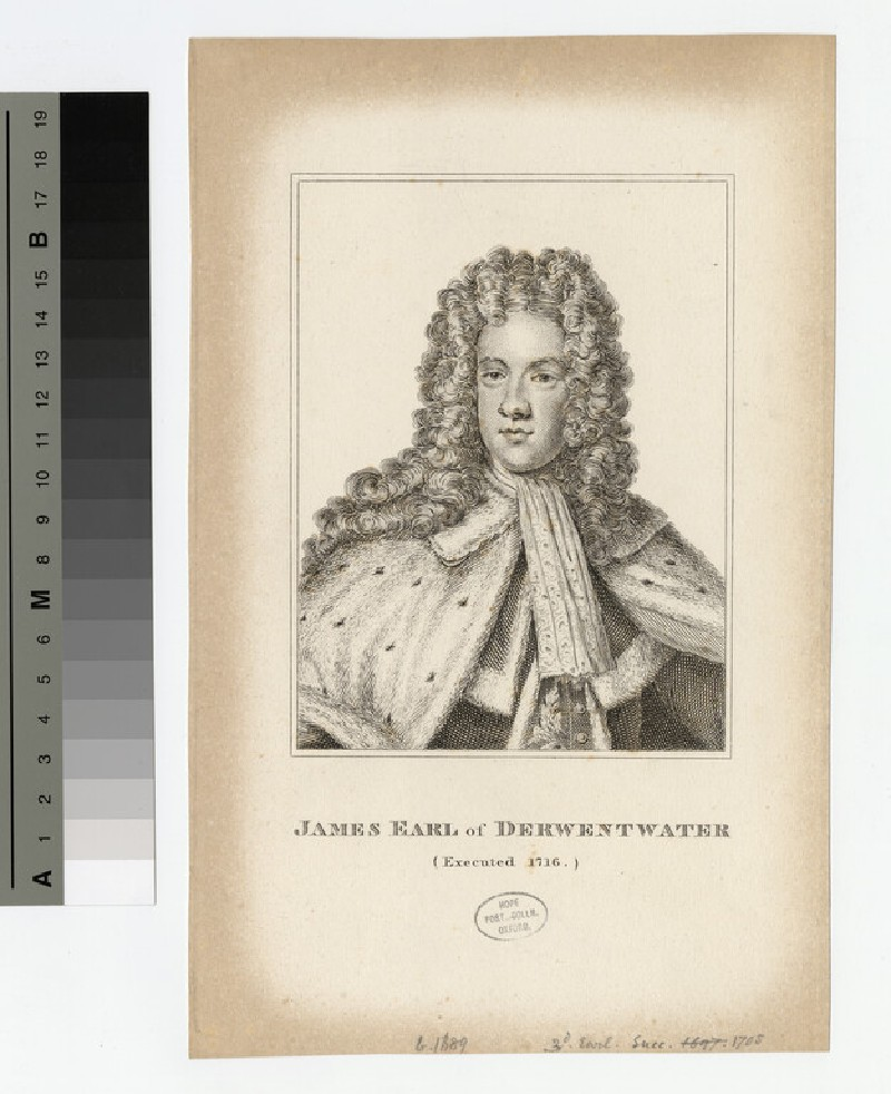 Portrait of James Radclyffe, 3rd Earl of Derwentwater