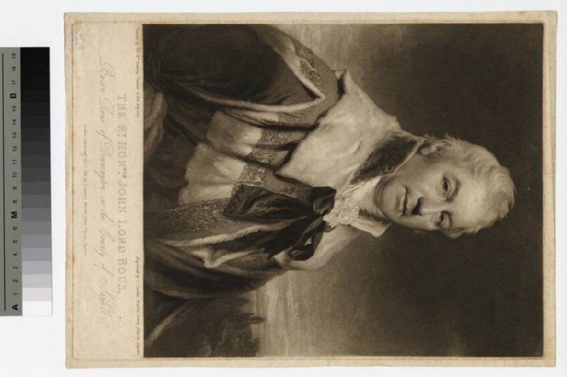 Portrait of Lord Rous