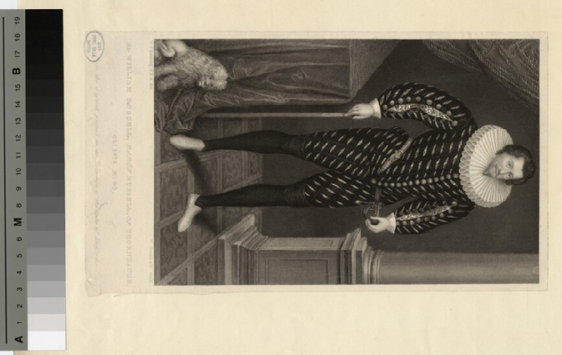 Portrait of Russell of Thornhaugh, Lord (WAHP17129)