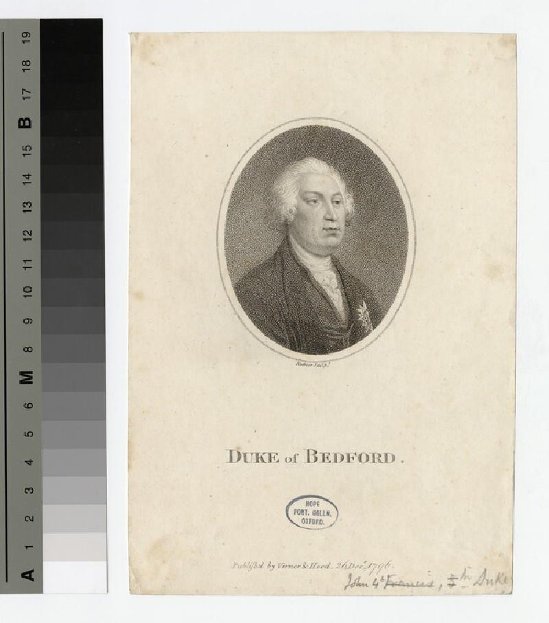 Portrait of John Russell, 4th Duke of Bedford
