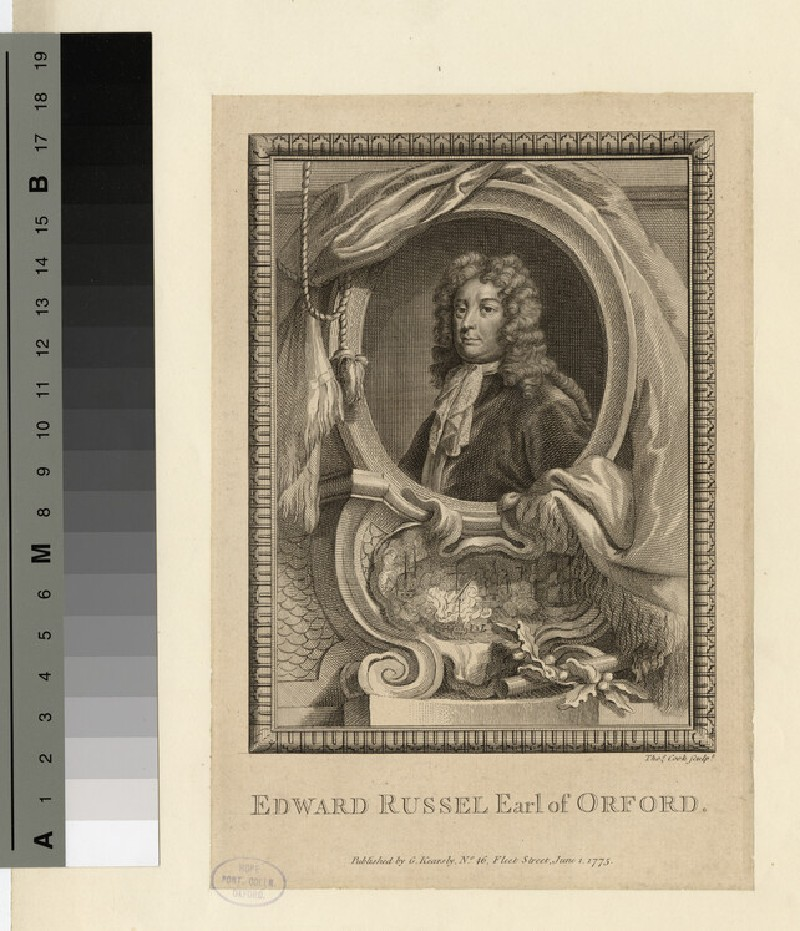 Portrait of Edward Russell, 1st Earl of Orford