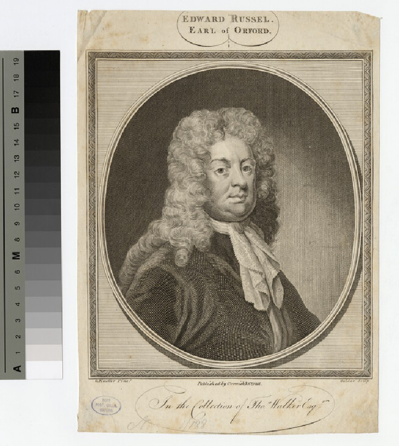 Portrait of Edward Russell, 1st Earl of Orford (WAHP17202)