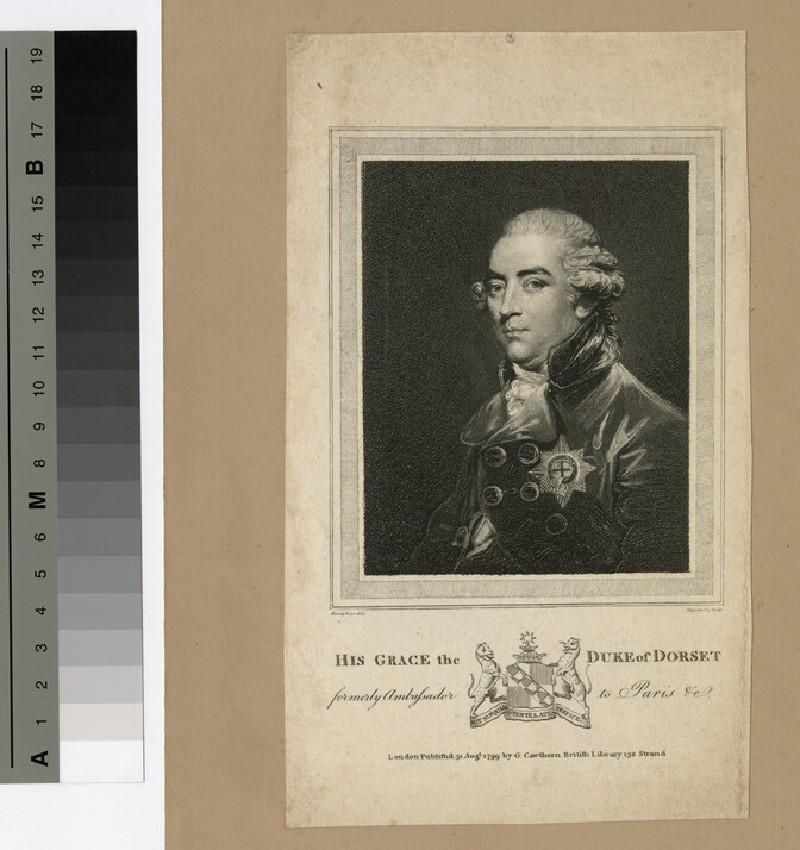 Portrait of John Sackville, 3rd Duke of Dorset