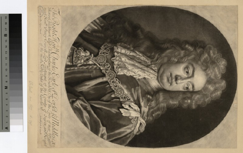 Portrait of Charles Sackville, 6th Earl of Dorset