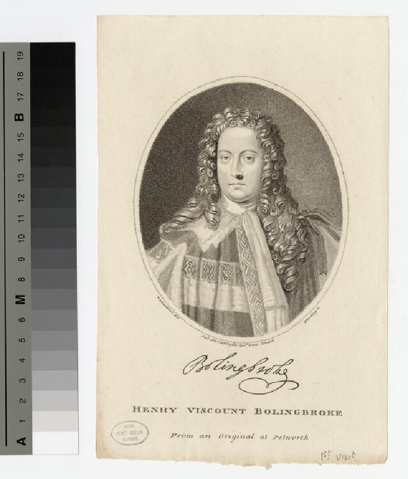Portrait of Bolingbroke