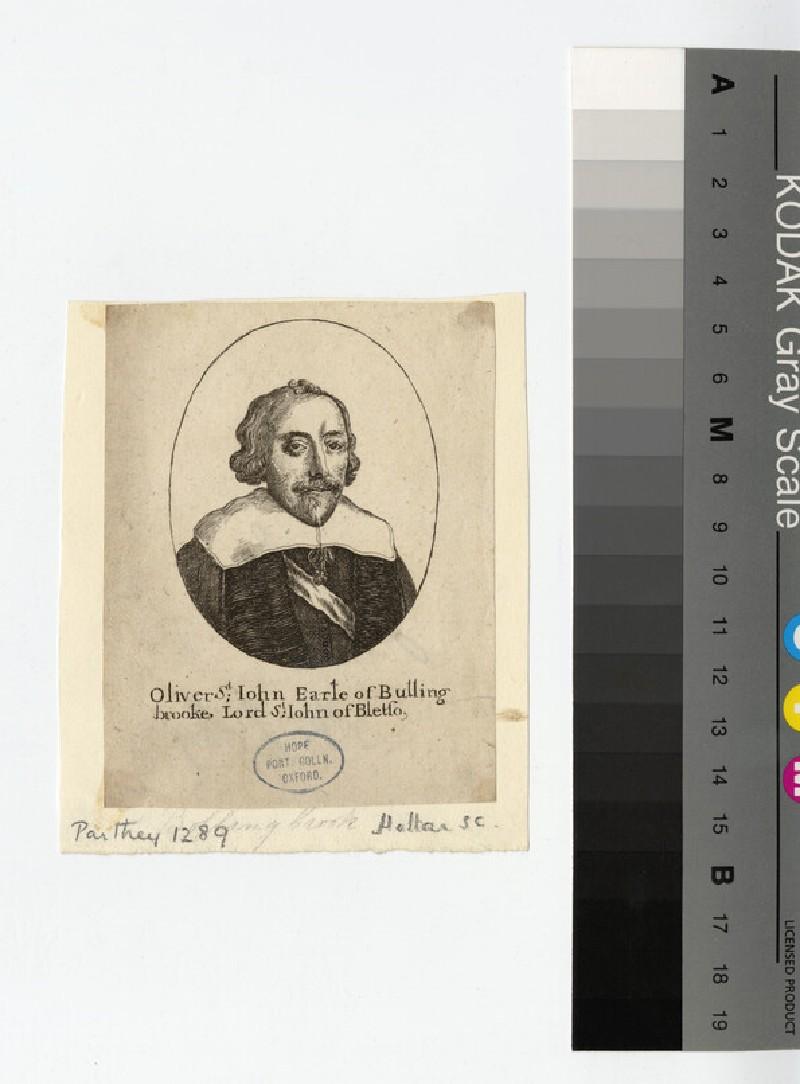 Portrait of Earl Bolingbroke
