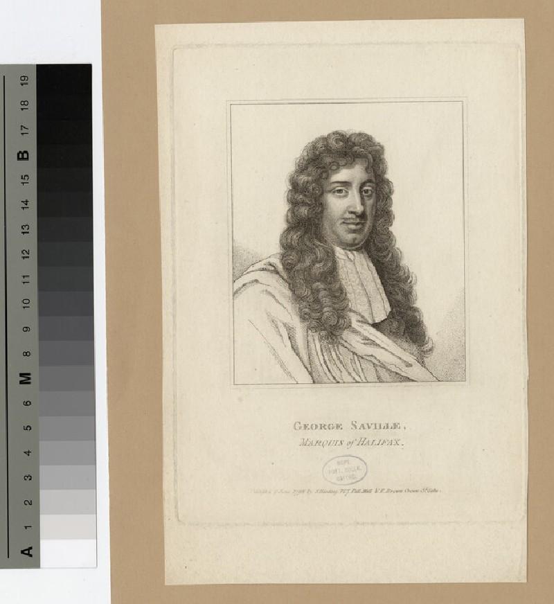 Portrait of George Savile, 1st Marquess of Halifax