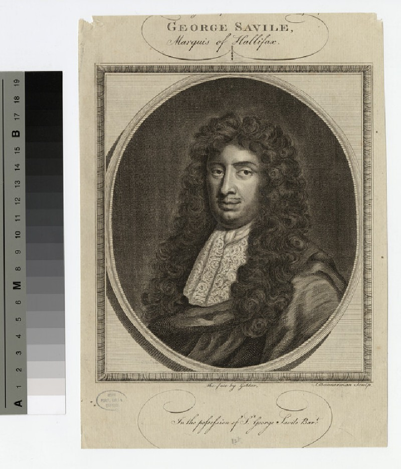 Portrait of George Savile, 1st Marquess of Halifax (WAHP17267)