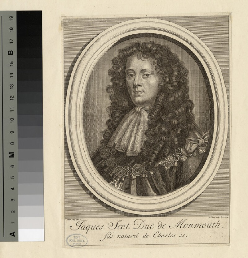 Portrait of Monmouth (WAHP17290)
