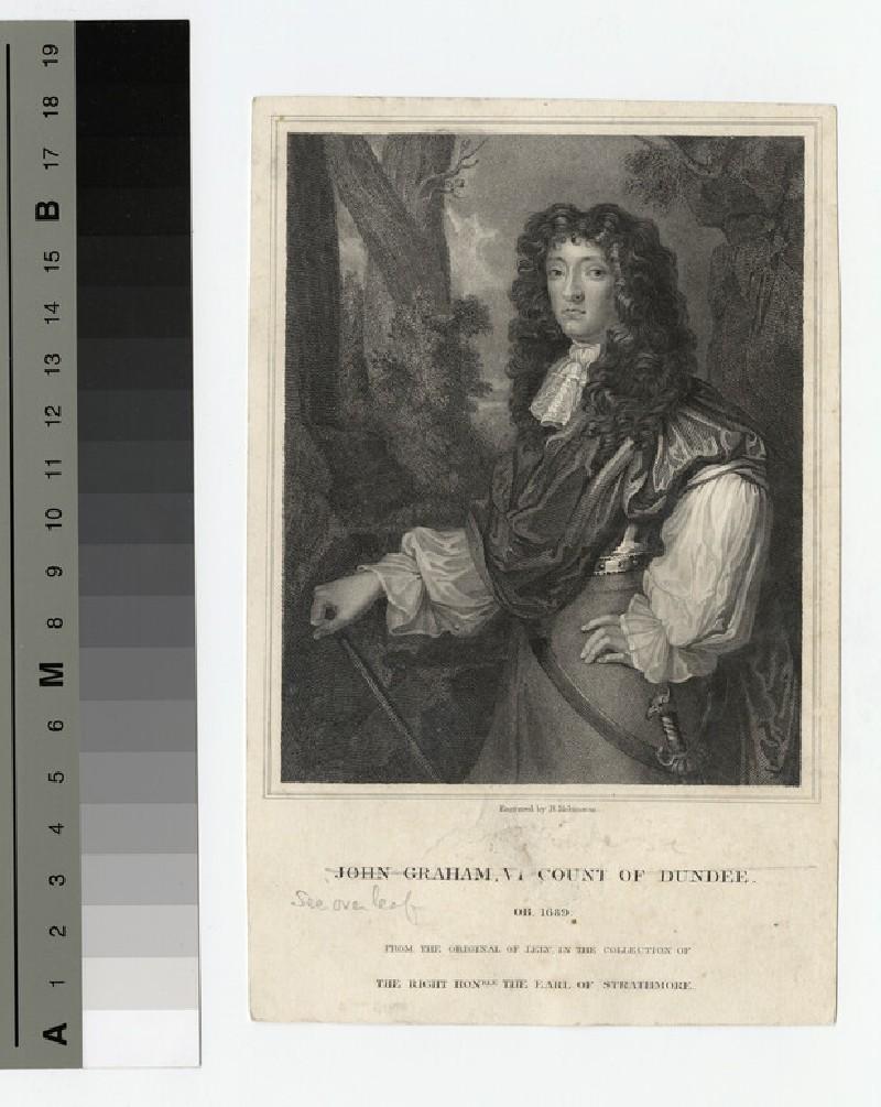 Portrait of VisCount Dundee