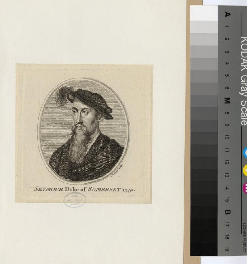 Portrait of Edward Seymour, 1st Duke of Somerset (WAHP17334)