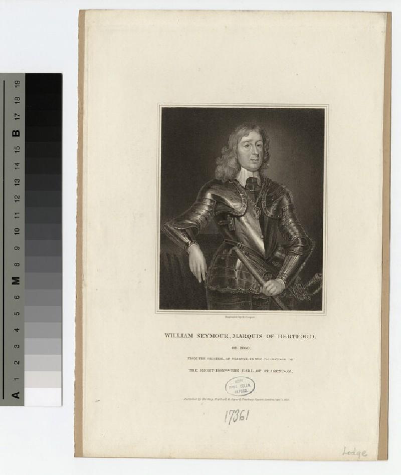Portrait of 1st Marquis Hertford