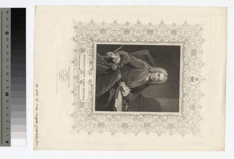 Portrait of Horatio Walpole, 1st Baron Walpole of Wolterton