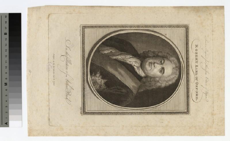 Portrait of Robert Walpole, 1st Earl of Orford