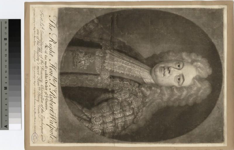 Portrait of Sir R. Walpole