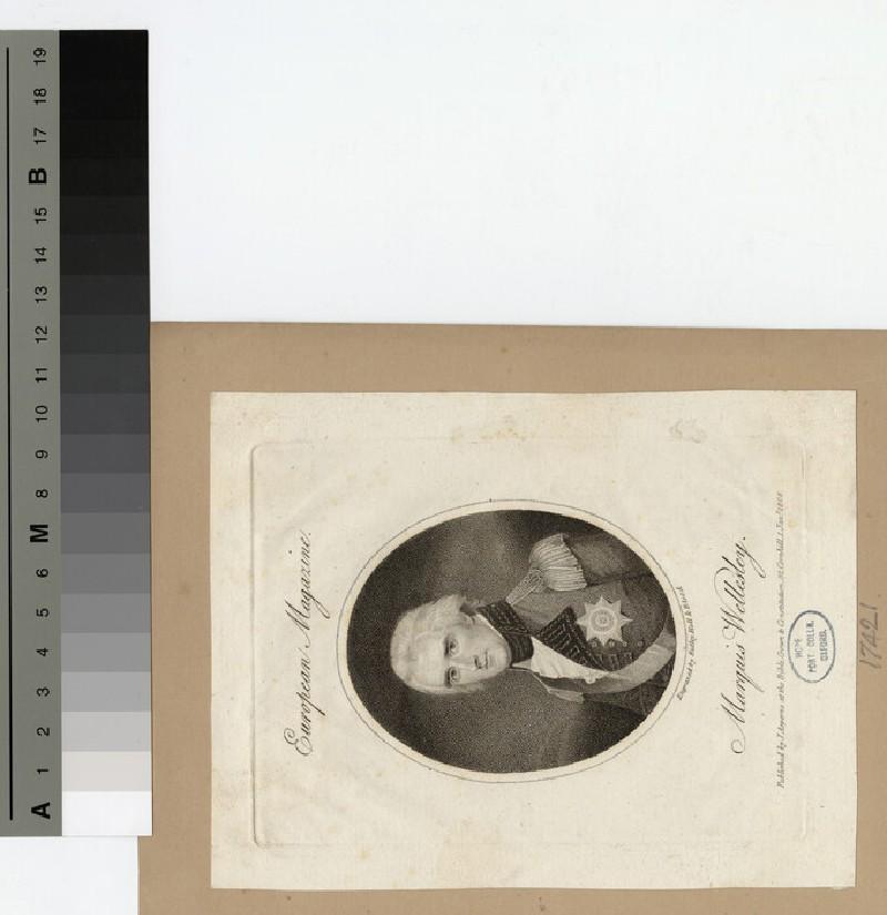 Portrait of Marquis Wellesley