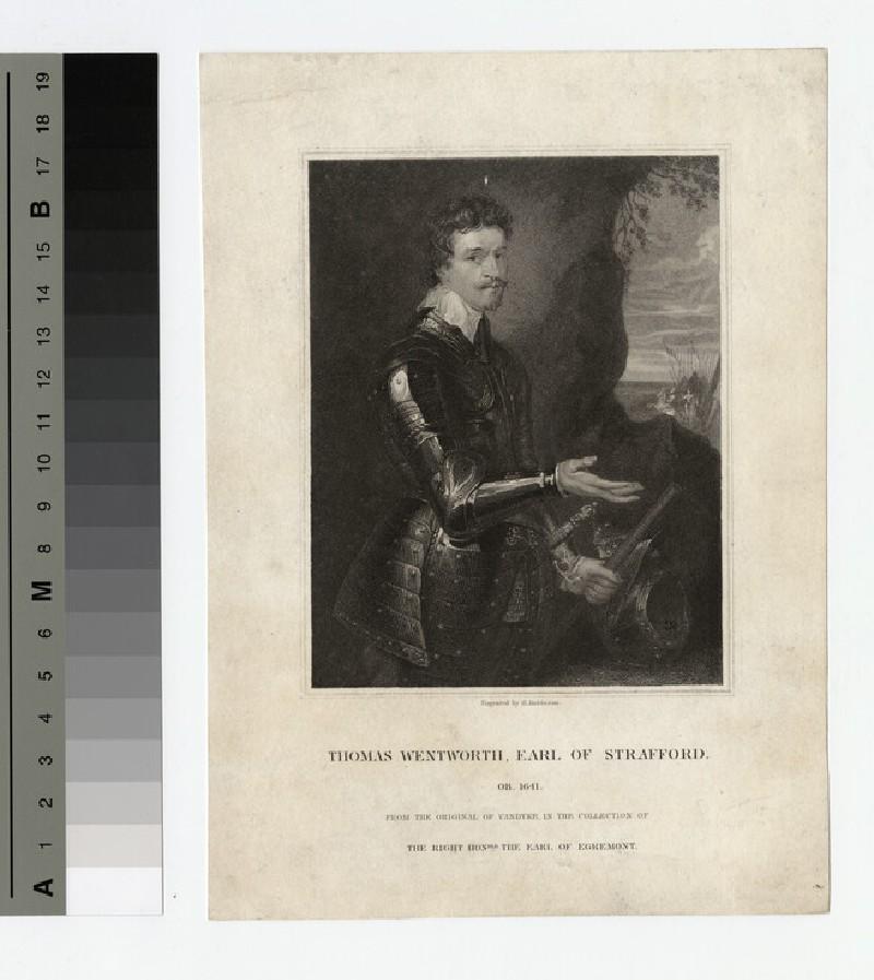 Portrait of Earl Strafford