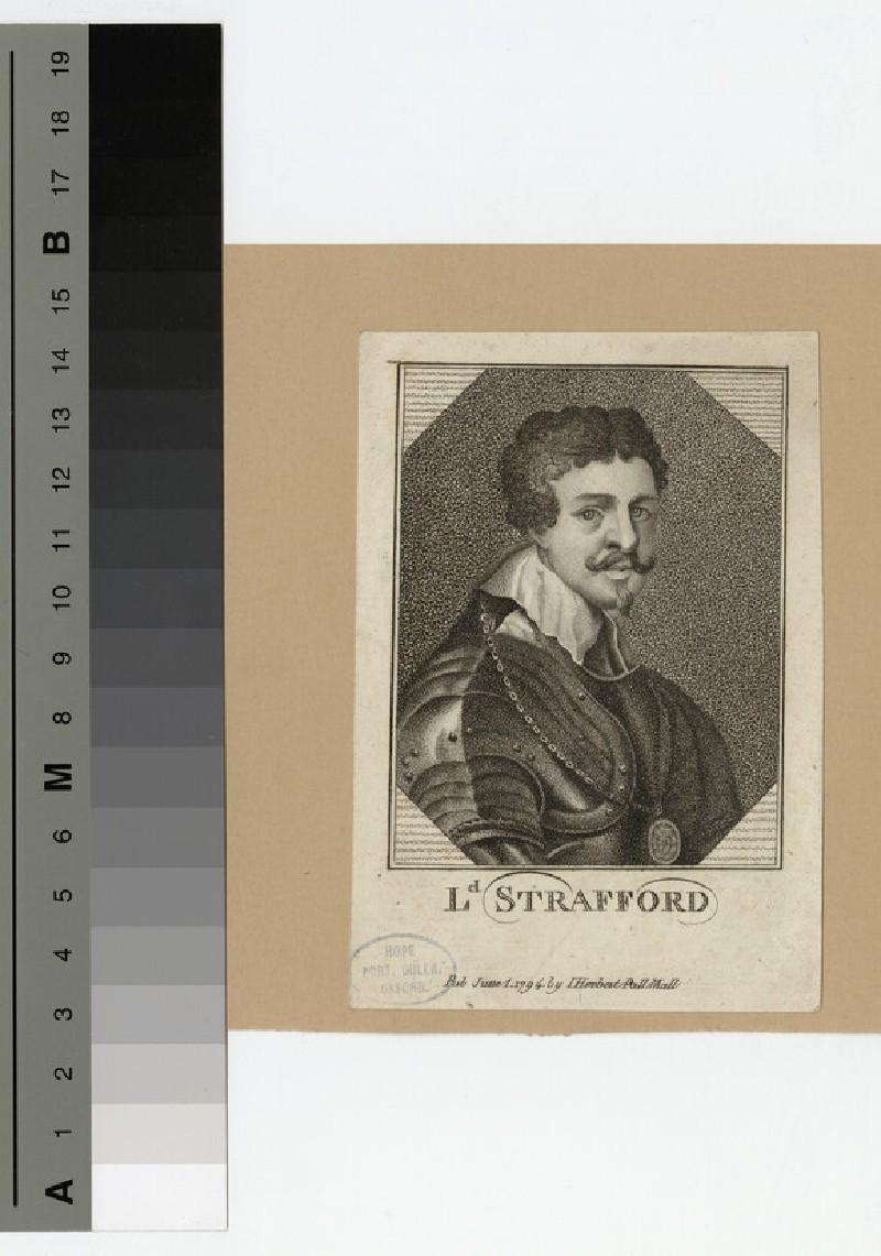 Portrait of Thomas Wentworth, 1st Earl of Strafford