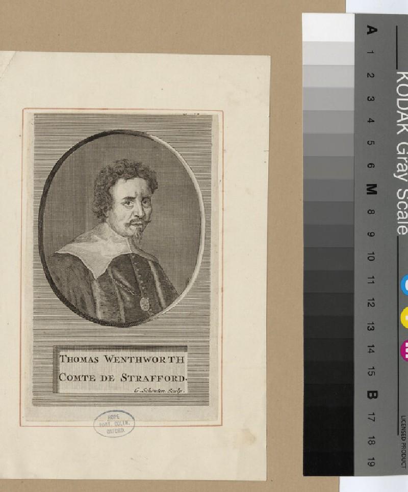 Portrait of Strafford (WAHP17460)
