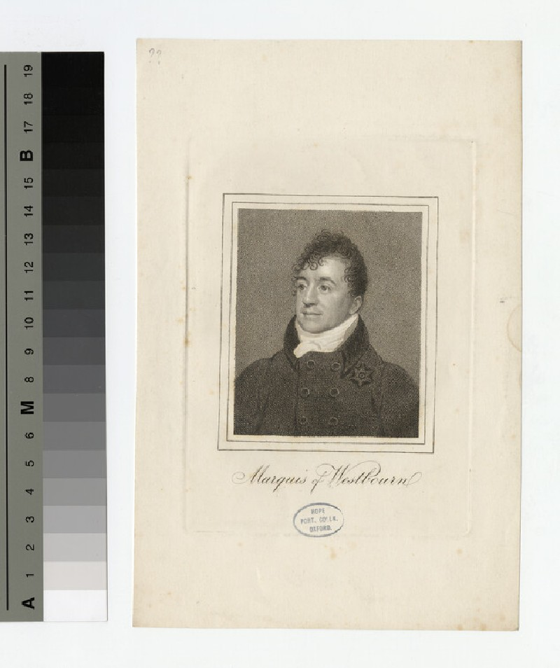 Portrait of Marquis Westbourn (WAHP17483)