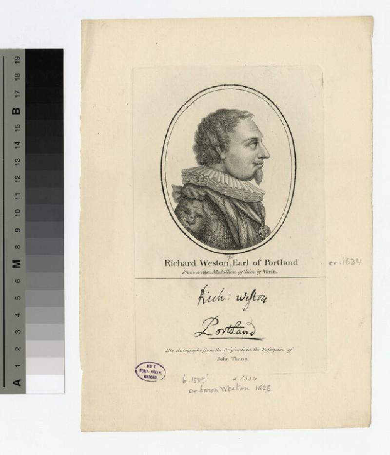 Portland, 1st Earl (WAHP17486.1)