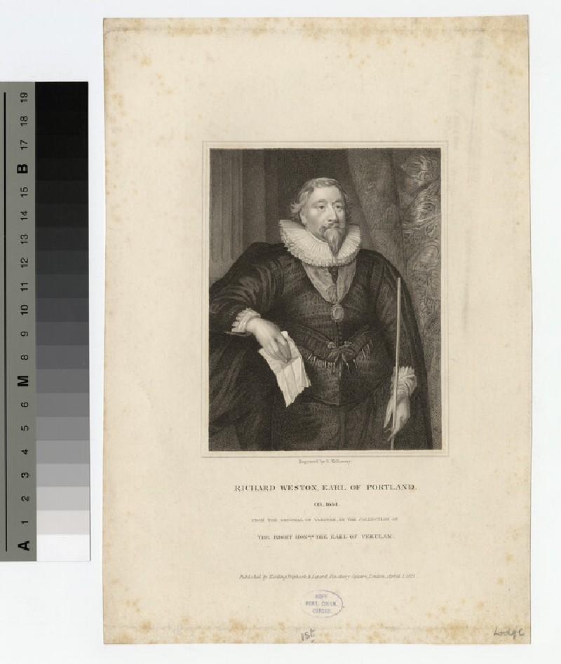 Portrait of Earl Portland (WAHP17488)