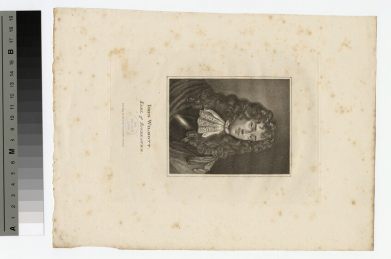 Portrait of John Wilmot, 2nd Earl of Rochester (WAHP17548)