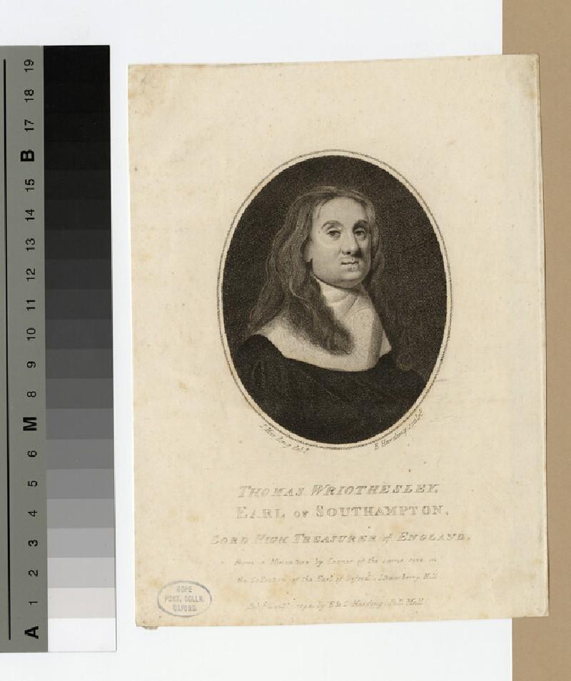 Portrait of Earl Southampton (WAHP17589)