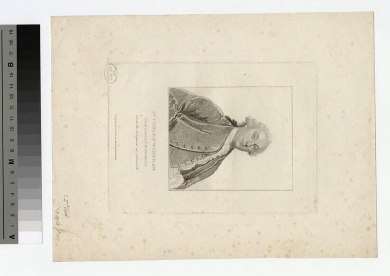 Portrait of 1st Earl Egremont