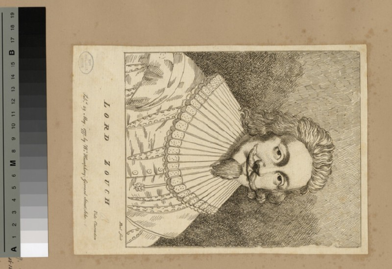 Portrait of Lord Zouch