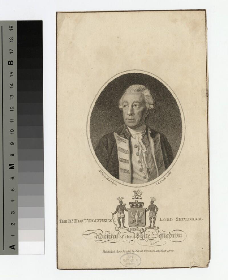 Portrait of Lord Shuldham