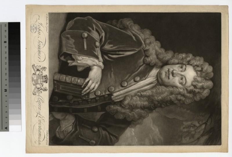 Portrait of Baron Evesham