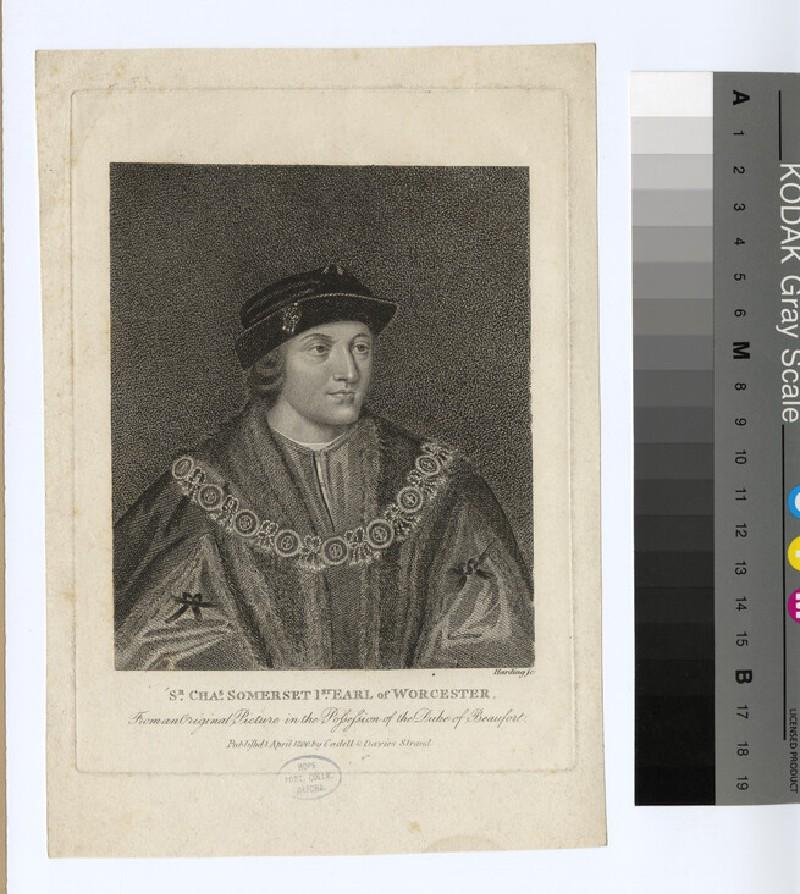 Portrait of 1st Earl Worcester