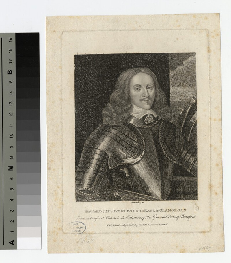 Portrait of Edward Somerset, 2nd Marquess of Worcester